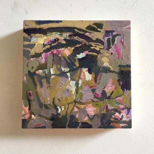 Beguile  | 20 cm x 20 cm x 3.5 cm | Oil on board