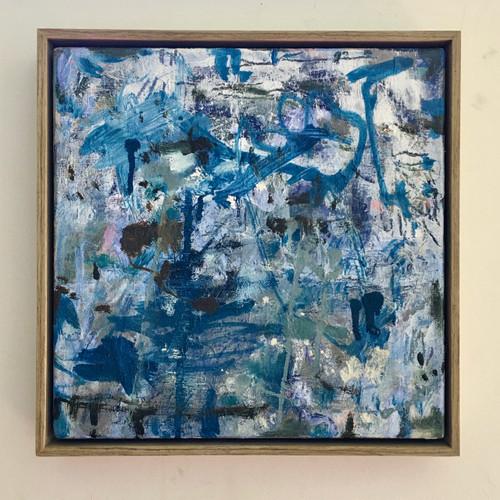 Roughing It | 34 cm x 34 cm | Framed | Oil on linen