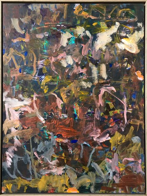Plentitude  | 63 cm x 48 cm | Framed | Acrylic and oil on board