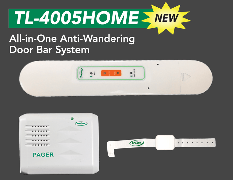 All in one anti wandering door bar system  Home