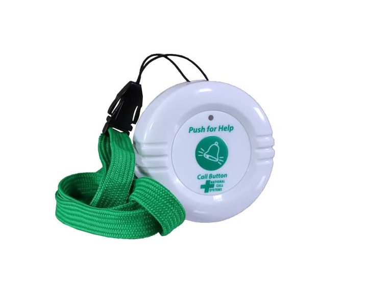 National Call Systems Emergency Call Button with Lanyard Attached