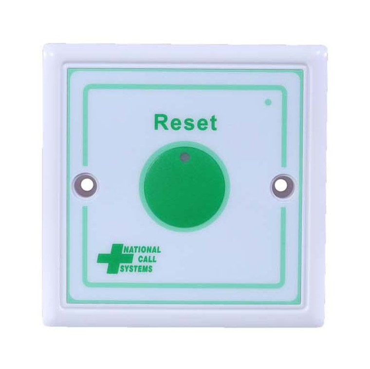 National Call Systems Bathroom Pull Cord Reset Button
