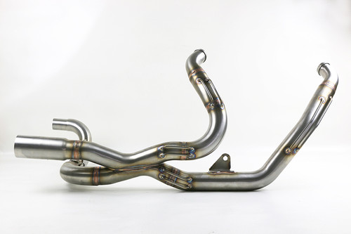 Kodlin Performance Headers HD Touring 2017 up Stainless Steel, Brushed