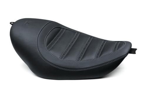 Kodlin Striped Seat for Sportster models, Black