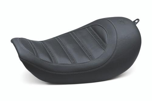 Kodlin Striped Seat 2006-2017 Dyna models, Black