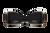 Black Elypse  on bike LED turn signals for 2015, 2016, 2017, 2018, 2019, 2020, 2021 Road Glide models