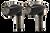 Kodlin Neowise Black 3-1 Bullet Grooved Rear Indicators