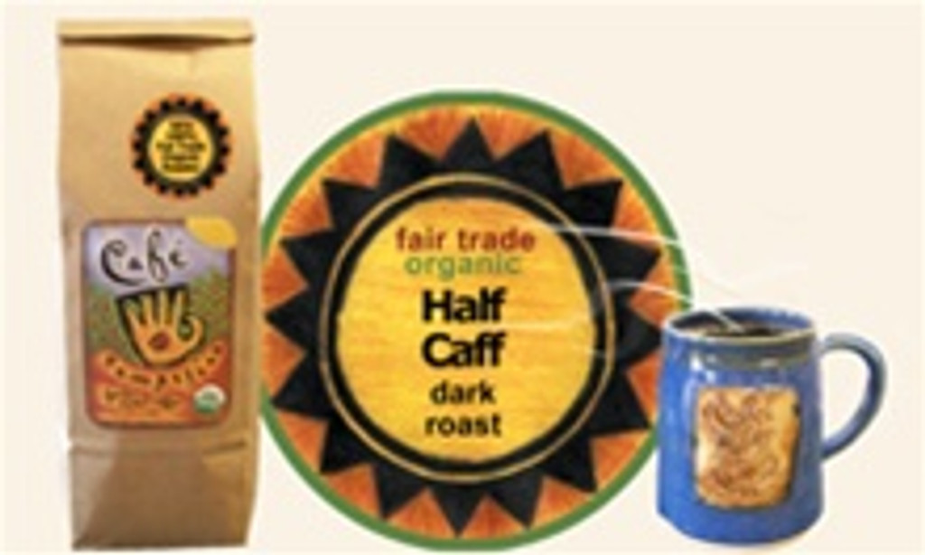 Half Caff Blend French Roast Coffee