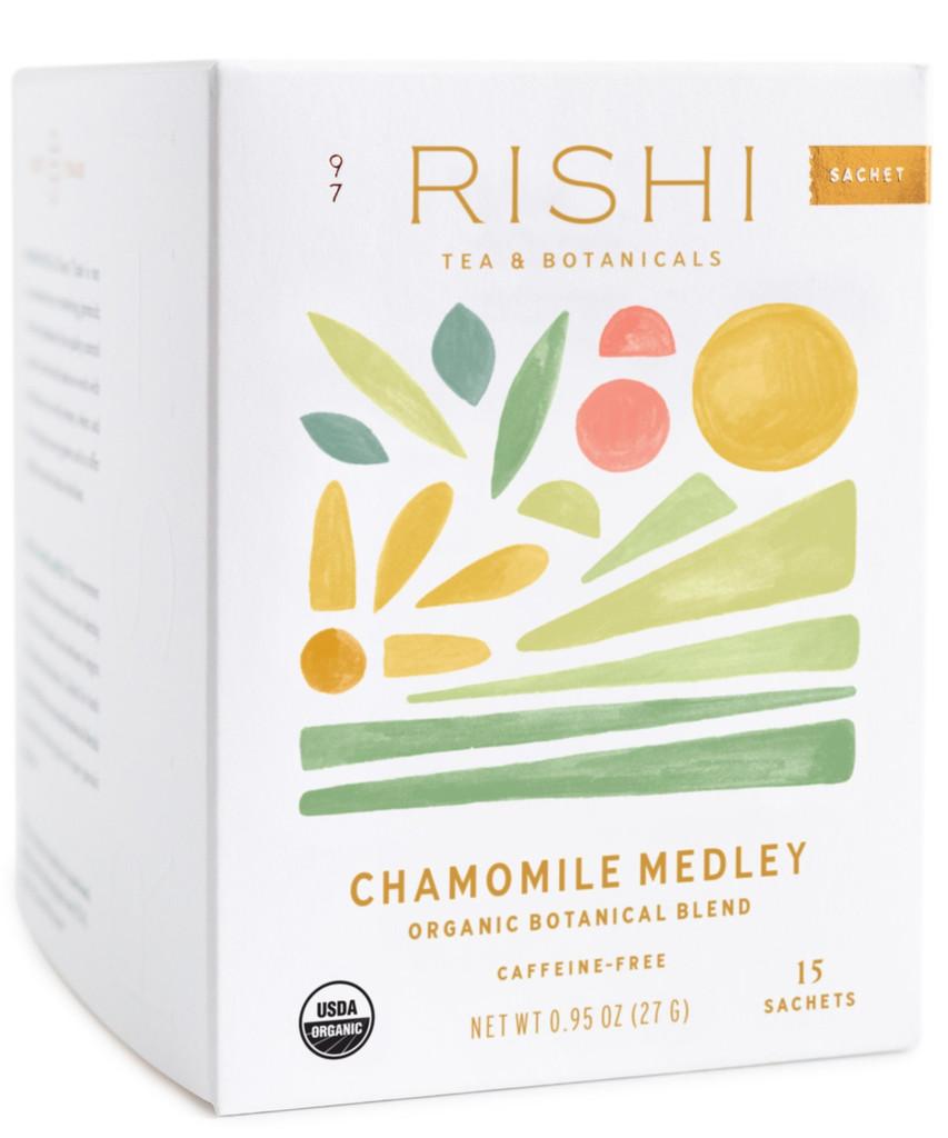 Rishi Chamomile Medley Tea (caffeine free)
