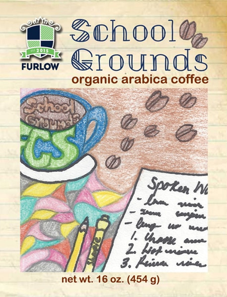 School Grounds Blend Full City Roast Coffee
