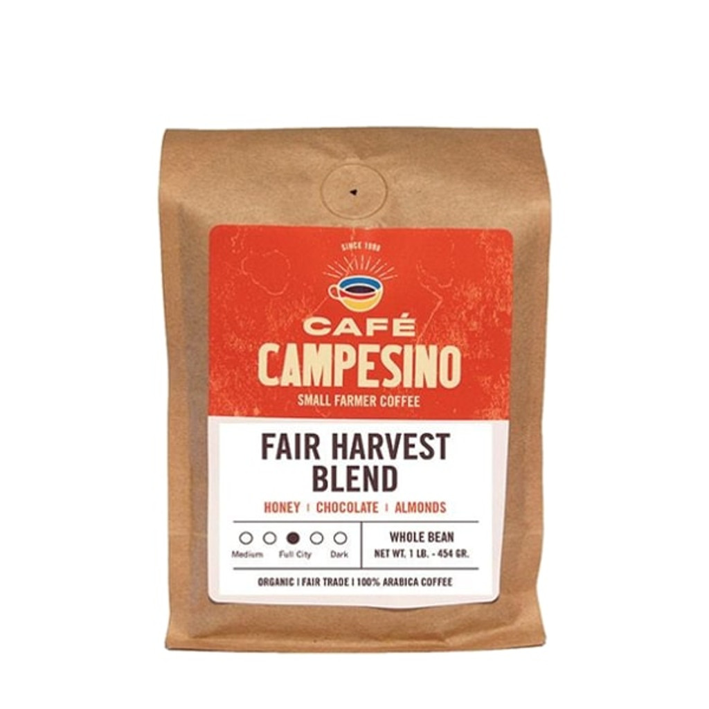 Fair Harvest blend coffee.