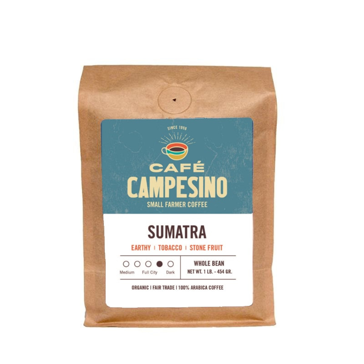 Sumatra Viennese coffee is available online for one-time purchase or as a subscription.