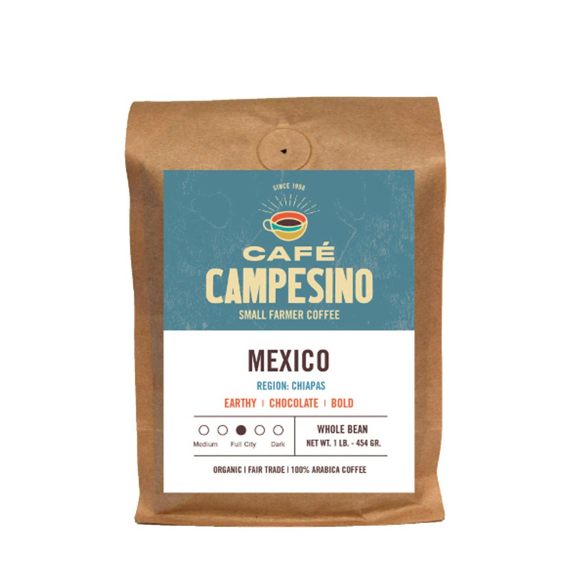 Fair trade, organic, shade-grown, arabica coffee from the Maya Vinic cooperative in Chiapas, Mexico