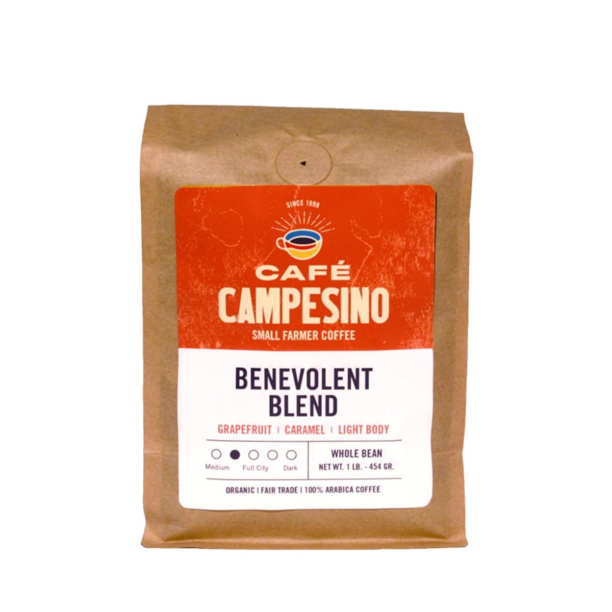 Benevolent Blend Medium Roast Coffee