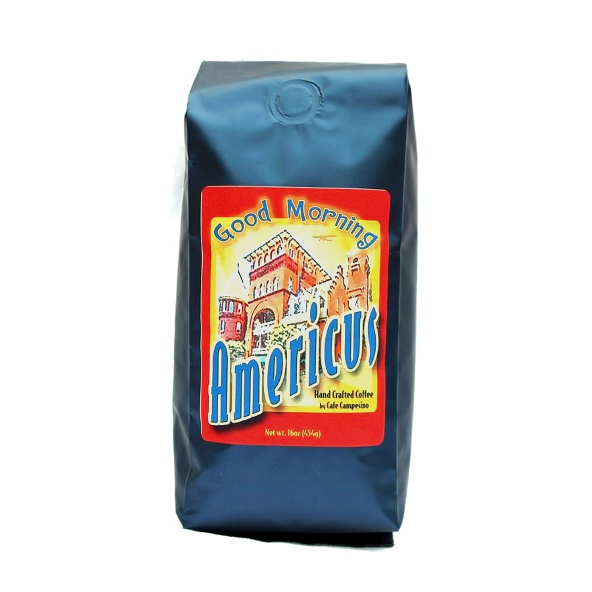 This delightful breakfast blend combines fair trade, organic coffees from Latin America and Indonesia. It is medium-bodied with a sweet, fruity fragrance, and is a great first cup of the day. The blend is complemented by a beautifully designed label depicting the historic Windsor Hotel.