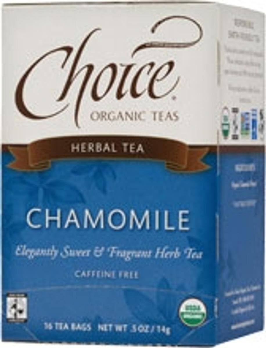 Choice Chamomile Herb Tea (caffeine free)