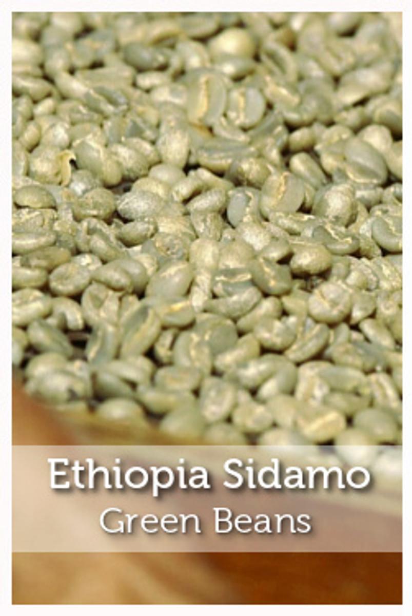 Ethiopia Sidama Green Coffee Beans