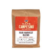 Fair Harvest blend coffee.
