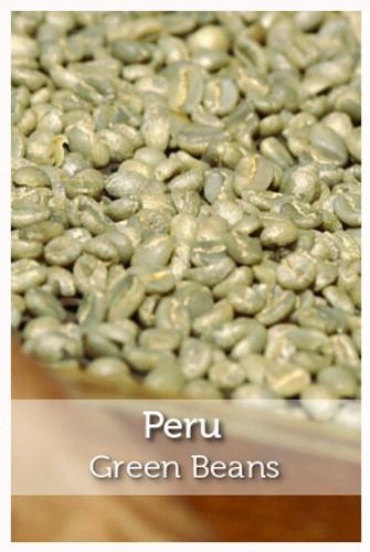 Peru Fair Trade Organic Green Coffee Beans