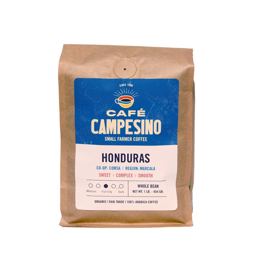Fair Trade Cafe Campesino COMSA Honduras Organic Coffee
