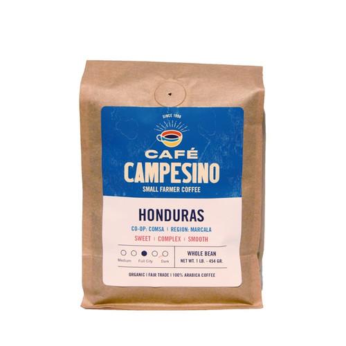 Fair Trade Cafe Campesino COMSA Honduras Organic Coffee