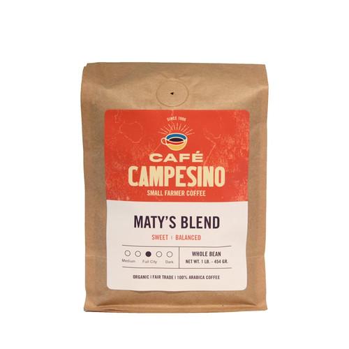 Maty's Blend Full City Roast Coffee
