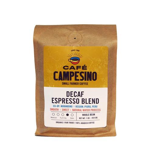 Decaf Espresso Blend Full City Roast Coffee
