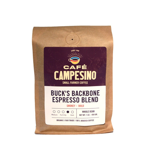 Buck's Backbone Espresso Viennese Roast