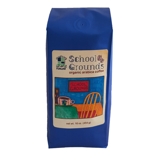 A medium-bodied blend with notes of dark chocolate and cherry that benefits Furlow School.
