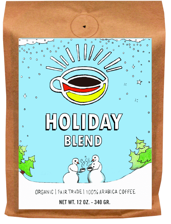 Bag of Holiday Blend for corporate giving