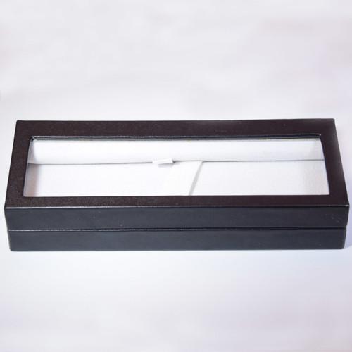 Leatherette Box w/ Acrylic Window