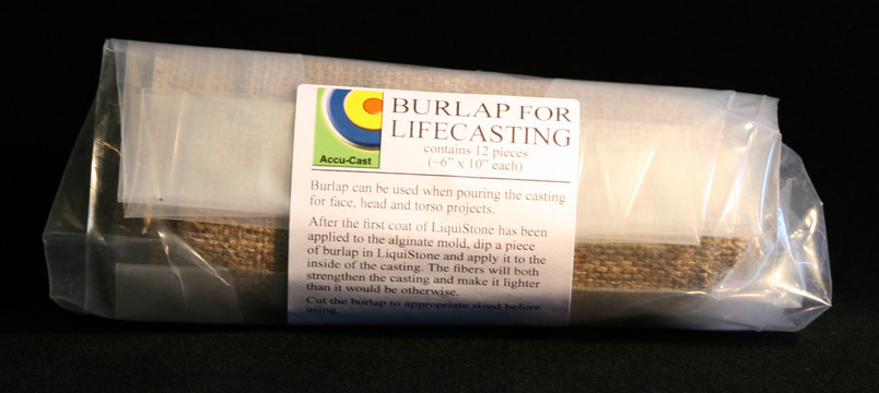Burlap for LifeCasting