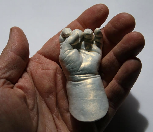 Baby Hand Casting for Beginners