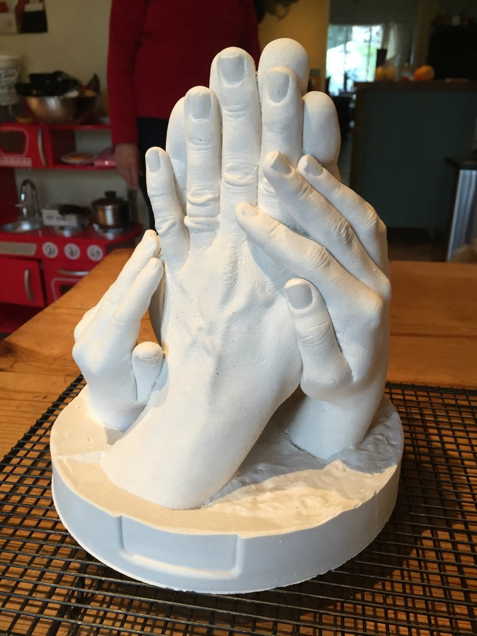 How to Make 3D Hand Casts at home