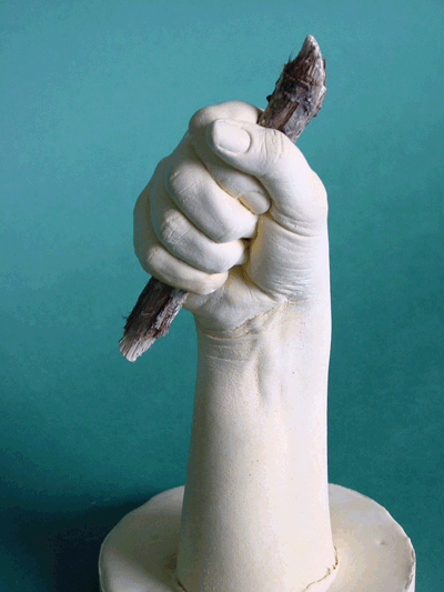 Your imagination is the only thing holding you back with hand casting. This one is just holding a stick.