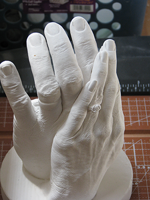 Hand casting with Accu-Cast ValuGel