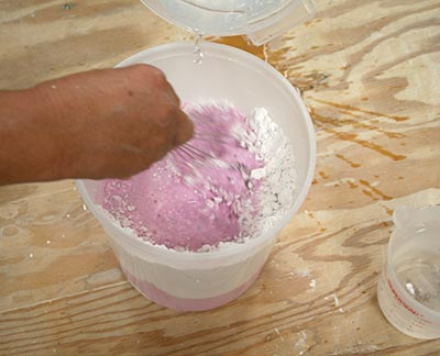 Color Changing Alginate for LifeCasting
