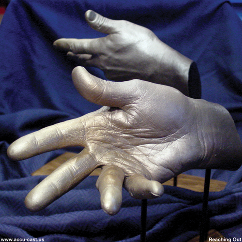 Hands are extremely expressive and poses are limited only by your imagination.
