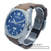 Armand Nicolet J09 Day Date Blue Dial