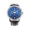 Vulcain 50s Presidents Monopusher Chronograph *UNWORN* *Blue Dial*