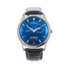 Jaeger-LeCoultre Master Ultra Thin Power Reserve *UNWORN* *2020* *Blue Dial* *ON HOLD*
