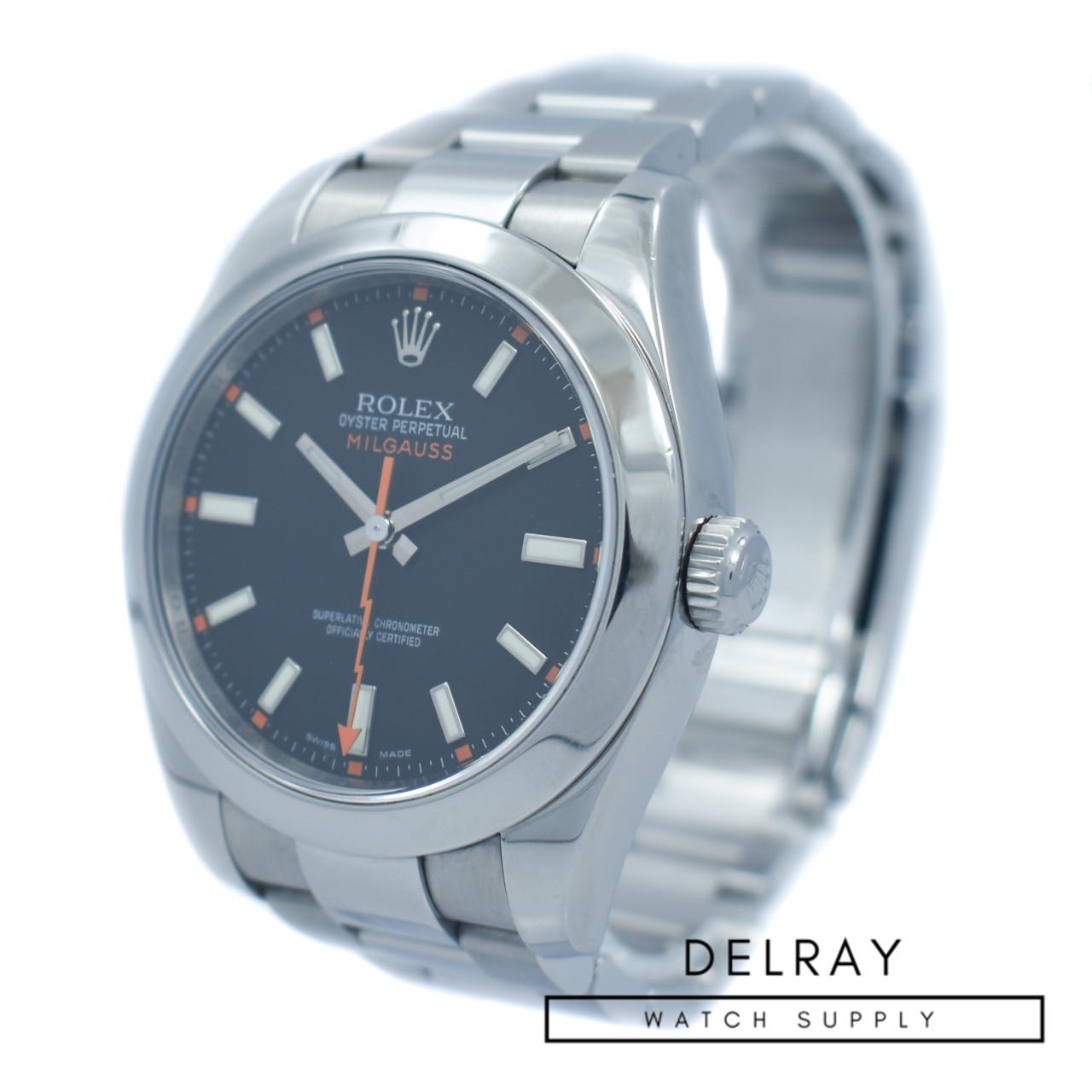 Rolex Milgauss 116400 Black Dial