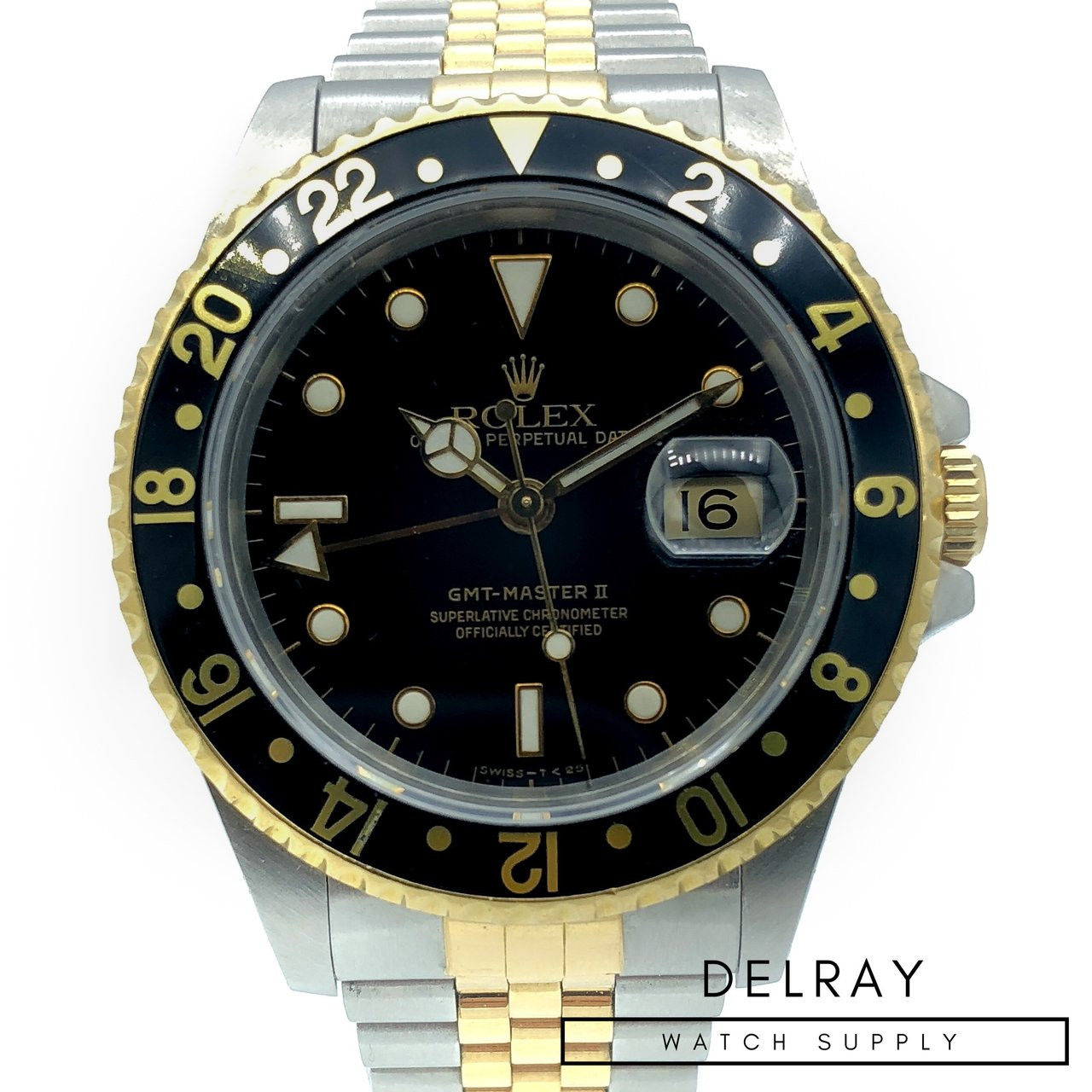 Rolex Gmt Master Ii 16713 Two Tone Price Drop Delraywatch Com