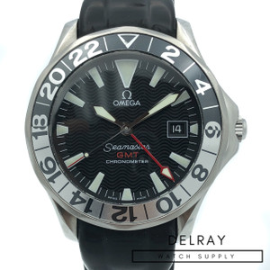 Omega Seamaster GMT on Rubber