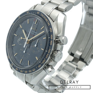 Omega Speedmaster Apollo XVII Blue Dial