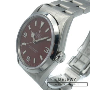 Rolex Explorer 14270 *Custom Red Apple Dial*