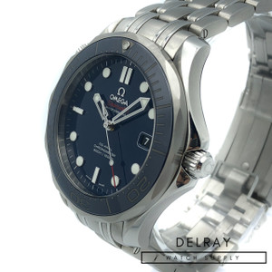 Omega Seamaster Professional Ceramic Blue Dial *2018 Warranty Card*