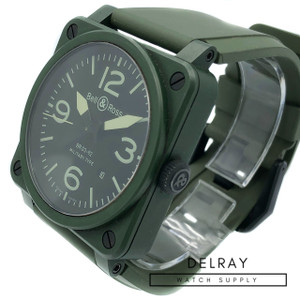 Bell and Ross BR03-92 Military Green Ceramic *ON SPECIAL*
