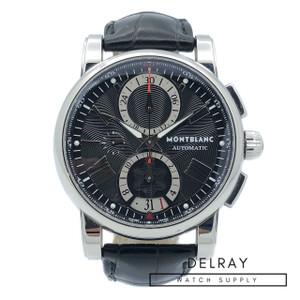 Montblanc Star Chronograph Black Dial
