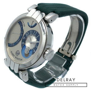 Harry Winston Premier Excenter Timezone *UNWORN*